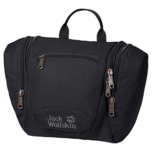 Jack Wolfskin, Beauty Case da viaggio Donna Caddie, Nero (Black), Taglia unica