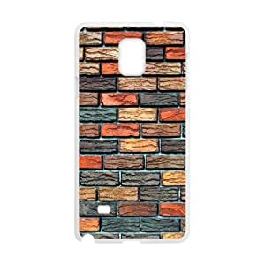 Samsung Galaxy Note 4 Cell Phone Case White Brick Wall D451104