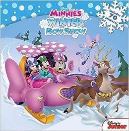amazon minnie minnie s winter bow show disney book group bill