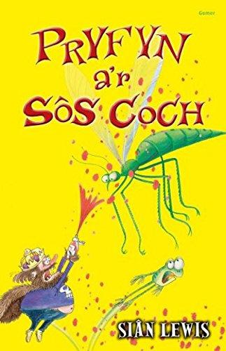 Read Online Cyfres y Coginfeirdd: Pryfyn a'r Sos Coch (Welsh Edition) ebook