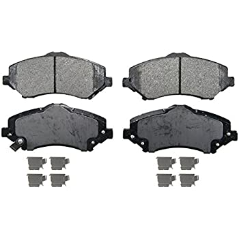 Rear Ceramic Brake Pads For 2005 2006-2009 Buick LaCrosse Low Noise 4pcs//set