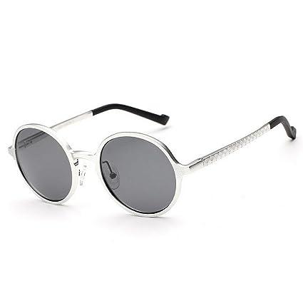 Peggy Gu Gafas de Sol de los Hombres del Estilo Retro Marco de Aluminio y magnesio
