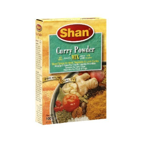 - Shan, Seasoning Mix Curry Powder Bx, 3.5-Ounce (Pack of 6)