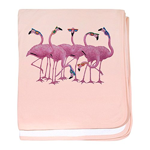 Price comparison product image Royal Lion Baby Blanket Cool Flamingos with Sunglasses - Petal Pink