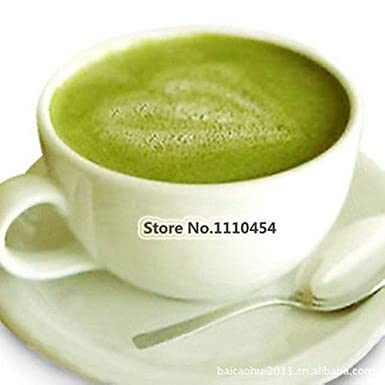 Polvo de té natural orgánico de color verde mate de 2.82 oz ...