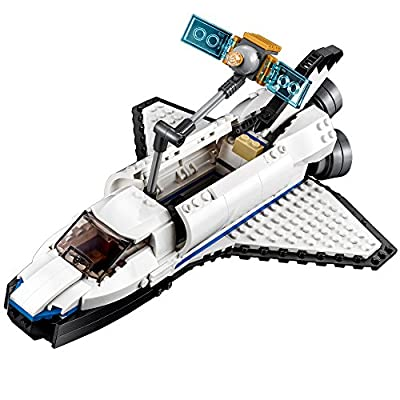 LEGO Creator Space Shuttle Explorer 31066 Building Kit (285 Piece) by LEGO