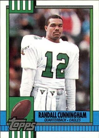 Amazoncom 1990 Topps Football Card 93 Randall Cunningham