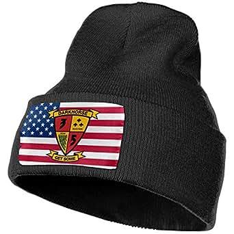 3rd Battalion 5th Marines Men&Women Warm Winter Knit Plain