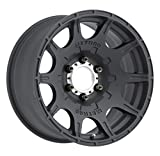 Method Race Wheels Roost Matte Black Wheel with Machined Center Ring (17x8.5''/5x4.5'') 0 mm offset