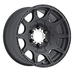 Method Race Wheels Roost Matte Black Wheel with Machined Center Ring (17x8.5\