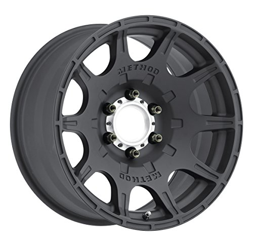 Method Race Wheels Roost Matte Black Wheel with Machined Center Ring (17x8.5''/5x4.5'') 0 mm offset by Method Race Wheels (Image #4)