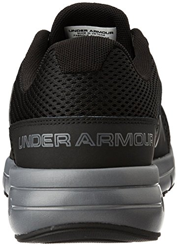 Under Armour UA Dash RN 2, Scarpe Running Uomo Black/Rhino Gray/Rhino Gray