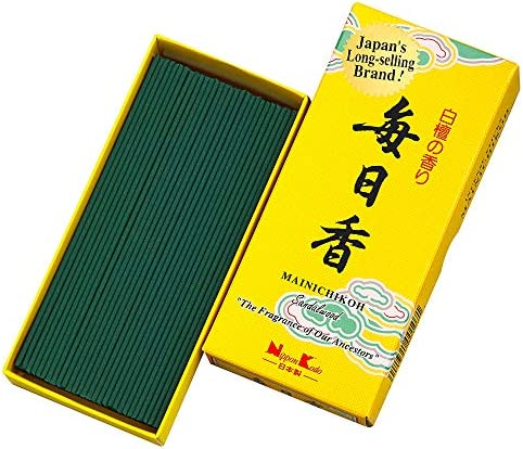 Details about  /Japanese Sandalwood Jinkou Agarwood Incense Hana-no-sho Gyokushodo 100 Sticks