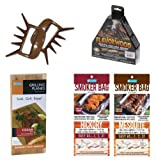 Cameron Grilling & Smoking Combo Set of 5 Man Claw Flavorwood Grill Planks