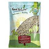 Organic Black-Eyed Peas, 5 Pounds - Raw Dried Cow Peas, Non-GMO, Kosher, Bulk Beans, Product of The USA