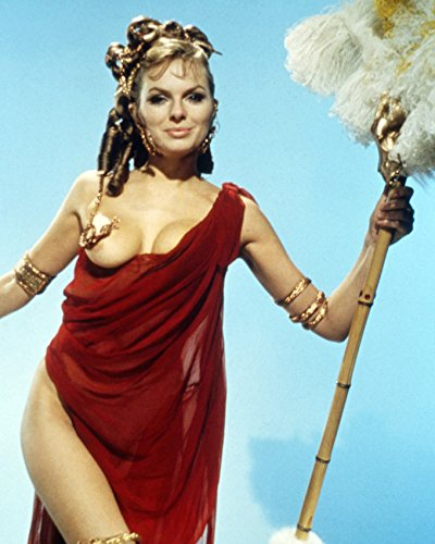[Up Pompeii Julie Ege Busty in Revealing Costume 16x20 Canvas Giclee] (Revealing Costumes)