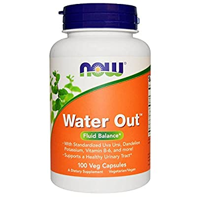 Now - Water Out 100 Veggie Capsules