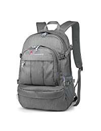 Mountaintop Casual Daypack College Backpack for Travel Hiking Rucksack