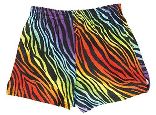 Soffe Rainbow Zebra Junior Novelty (Novelty Soffe Short)