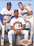 1993 Upper Deck #55 Pacific Sock Exchnge Seattle Mariners Baseball Card
