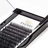 C Curl Eyelash Extensions 0.15mm Eyelash Extensions Faux Mink Eyelash Extensions Fake Lash Extensions Individual 8-14mm Mixed Tray Salon Perfect Use by EYEMEI