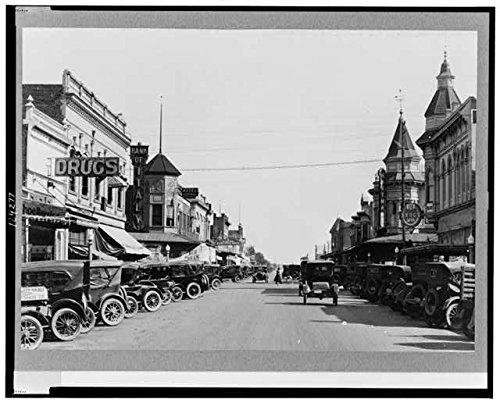 Photo: Main Street in Merced,California,CA,Merced - In Ca Stores Merced