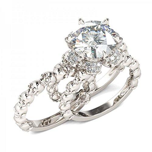 5 carat diamond ring - 9