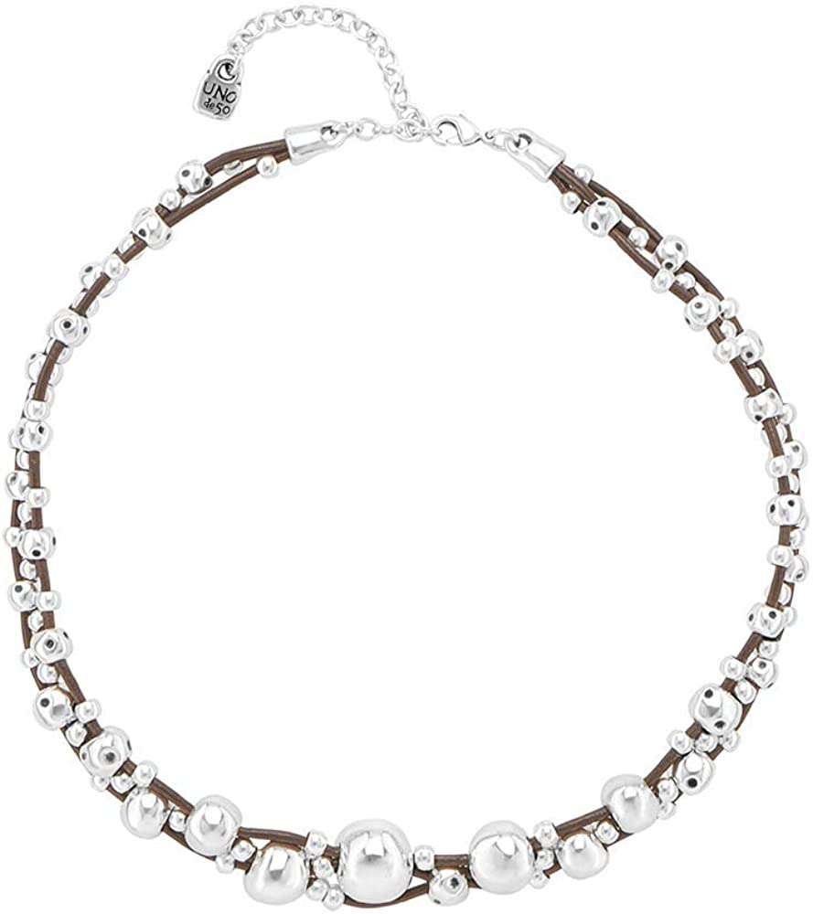 Uno de 50 THE/DESSERT/PEARL collections necklace COL1250BPLMTL0U