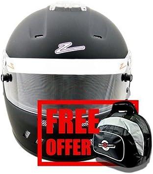 Zamp RZ-58 Snell SA2015 Helmet Matte Black Large