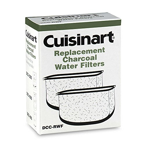 Cuisinart Replacement Charcoal Water Filters (Set of 2) (1) (Cuisinart Charcoal compare prices)
