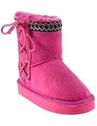 Kailin K Little Girls Shearling Boots