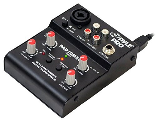 Pyle Pro PAD10MXU Channel Mixer Interface