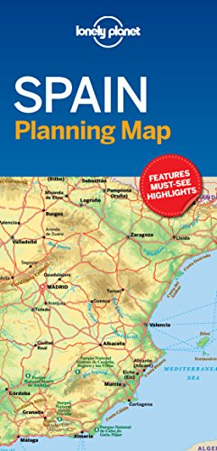 Planning Map - Lonely Planet Spain Planning Map
