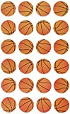Darice 1214-27 24 Piece Basketball Sticker