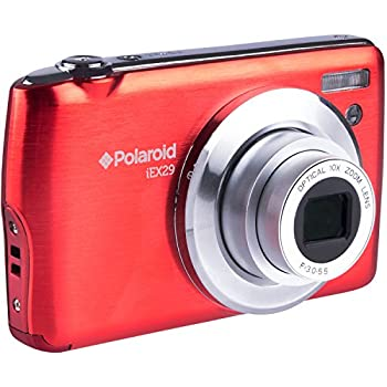 54f3c052ea Polaroid IEX29-RED HD 18 MP Optical Zoom Digital Camera with 2.4 Inch  Preview Screen