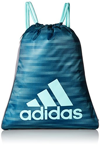 adidas Burst Sack pack, One Size, Energy Aqua Ratio/Onix/Energy Aqua by adidas