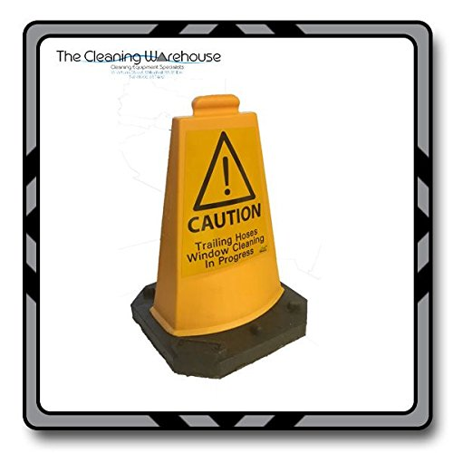 CAUTION SIGNS X3 WINDOW CLEANING THE CLEANING WAREHOUSE