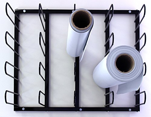 Vinyl Roll Wall Mount Storage Rack -20 Rolls by Signworld America (Image #3)