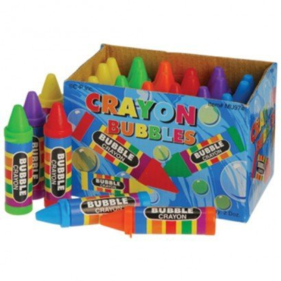 Crayon Bubbles, 24 Count -