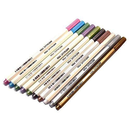 Miraclekoo colors Metallic Colored Scrapbook product image