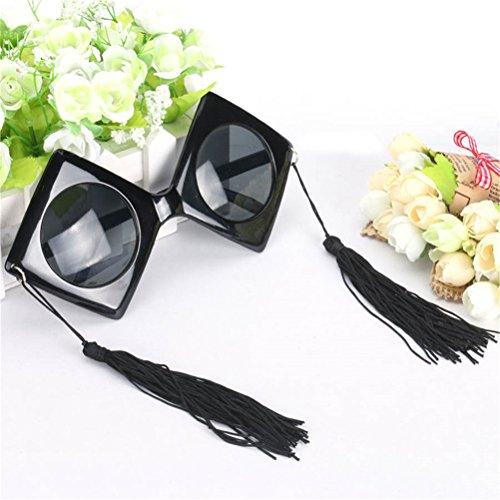 la Good de Gafas partido Cap sol Gafas decoración Bachelor para Atrezzo Night disfraces Accesorios del de X4SwX