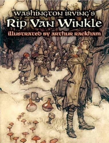 Read Online Washington Irving's Rip Van Winkle (Dover Fine Art, History of Art) pdf epub