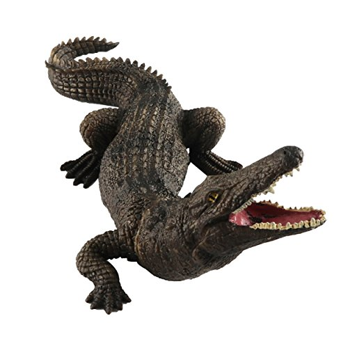 7.5' Action Figure (Toymany Nile Crocodile, 7.5'' High Realistic Plastic Animal Figure, Awesome Collection Decoration Learning Party Birthday Favors Gift For Boys Girls Children Toddler)
