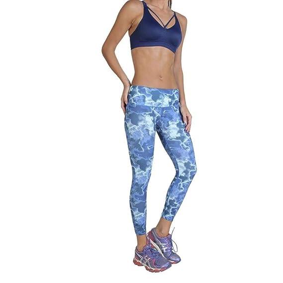Elle Sport ES3445 Pantalones de chándal Mujer Azul M: Amazon.es ...