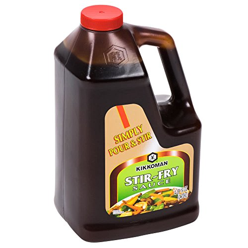 Kikkoman Classic Stir Fry Sauce, 2.2 Kilogram (4 Pound 14 Ounce) (Vegetable Fry Stir)