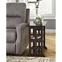 Braunsen Brown Wood Chair Side End Table