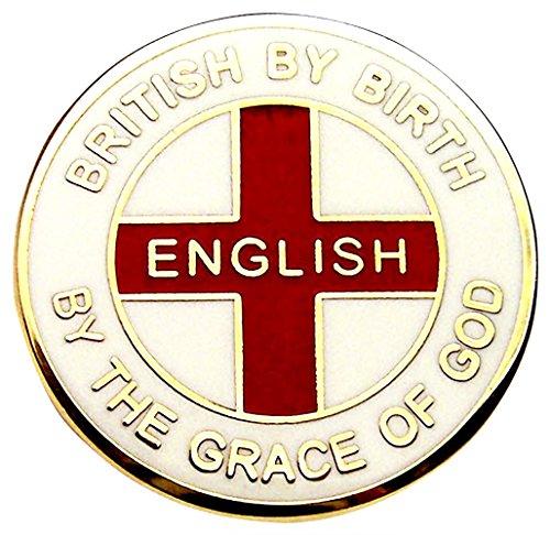 Patriotic Enamel Pin Badge UK Seller CRUSADER ENGLAND LAPEL BADGE