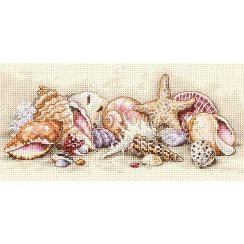 Dimensions 316266 Gold Collection Petite Seashell Treasures