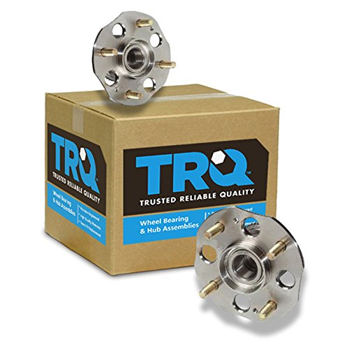 rear wheel hub and bearing pair set