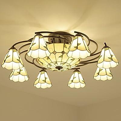 Redondo lámpara de techo en el Mediterráneo lámparas rústicas ...